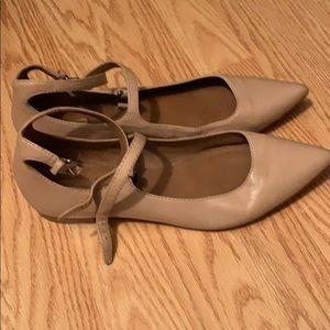 Frye Beige Ballet Flats
